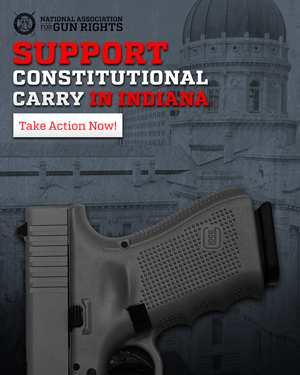 Support Constitutional Carry in Indiana